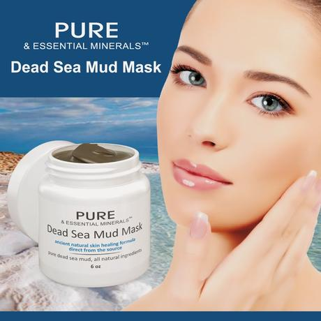 Spring (Skin) Cleaning with Dead Sea Mud Facial Mask