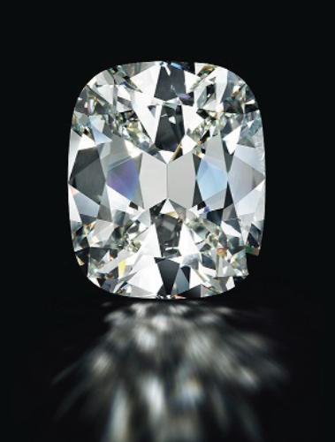 80.73-carat cushion cut diamond • Image: Christie's
