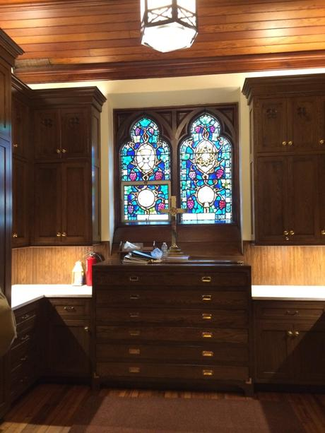 Calvary Church Sacristy