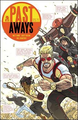 Past Aways #1 Cover