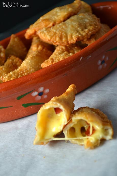Bacon and Cheese Empanadas