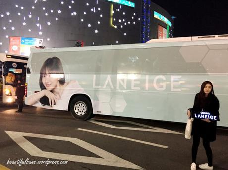 Laneige Global Beauty Camp Day 1 DDM shopping 1