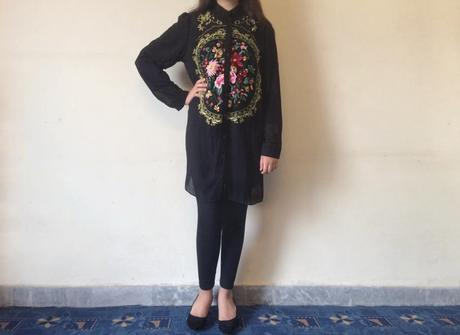 OOTD: Floral Embroidery