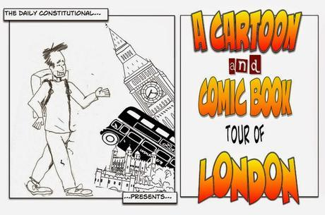 About The Cartoon & Comic Book Tour of #London