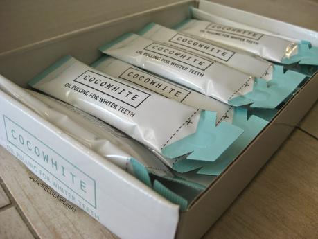 CocoWhite • Oil Pulling for Whiter Teeth