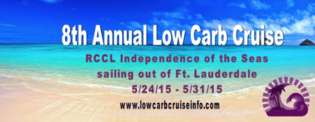 Speaker Schedule on the 2015 Low Carb Cruise