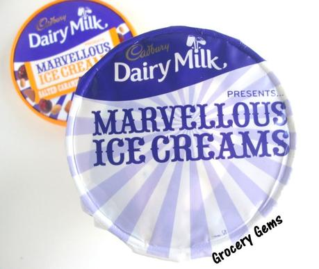 Review: Cadbury Dairy Milk Marvellous Ice Creams - Salted Caramel & Sour Cherry