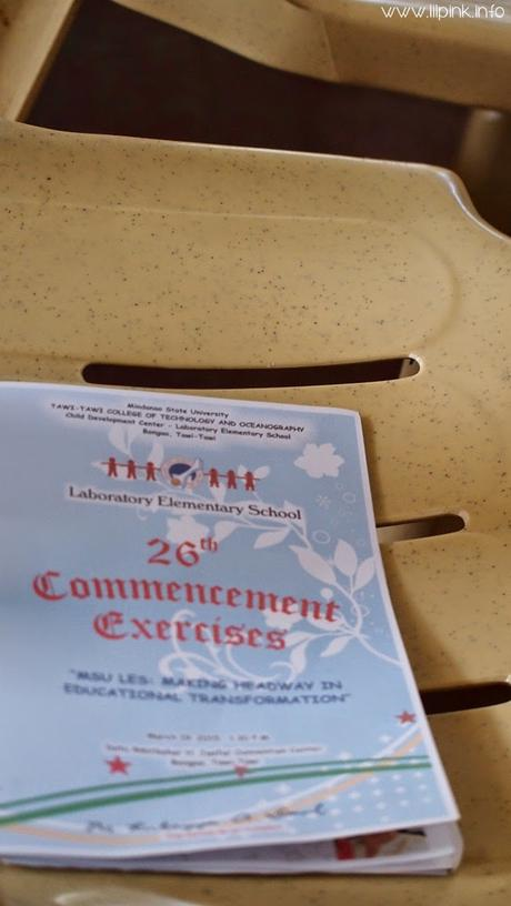 Speaking for my Elementary Alma Mater Commencement Exercises