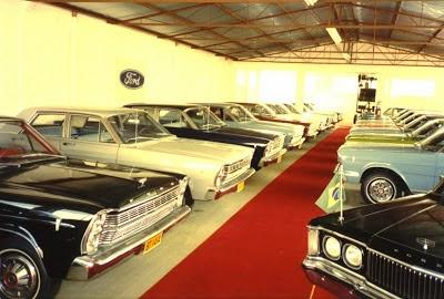Museums that disappeared, the Galaxie Museum in Brazil, created and only lasted as long as the creator, Arno Berwanger. Then they were sold off to collectors