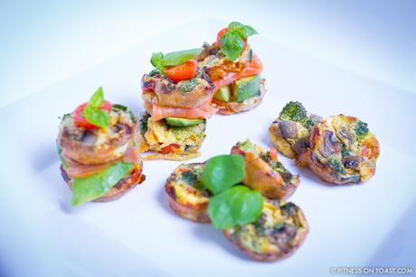 Fitness On Toast Faya Blog Girl healthy Eating Recipe Food Dinner Diet Tasty Clean Lean Eating Protein Egg Muffin Salmon Vegetable-3