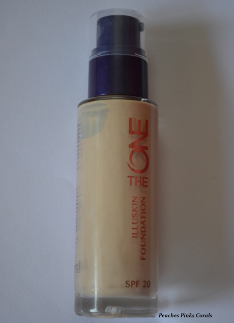 Oriflame The ONE IlluSkin Foundation, Porcelain Review and Swatches