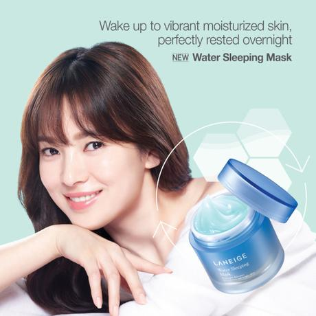Laneige Water Sleeping Mask-MODEL(500X500)