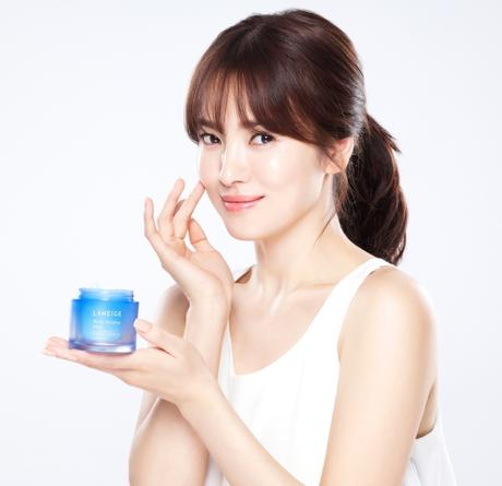 Song Hye Kyo_Laneige Water Sleeping Mask