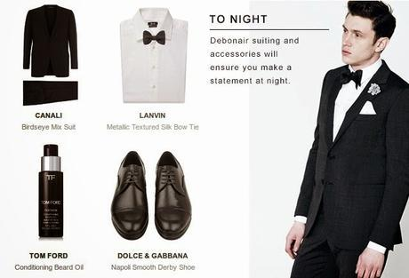 Discover How To Switch Your Suit From Day To Night (Harrods, Londond Way)