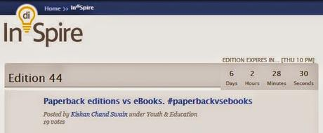 Paperback editions vs. eBooks