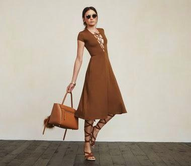 Boston Fashion, Spring Trends, Boston Fashion Blog, Online Shopping, How To Wear The Lace Up Dress, Best Spring Trends 2015, Reformation, Reformation Sandy Dress, Tie Up Dress, Best Spring Dresses
