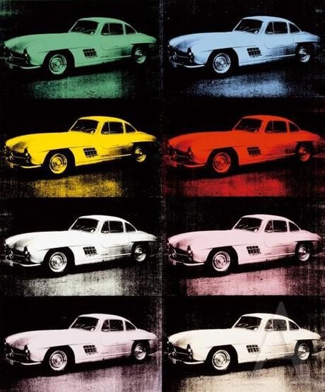 Andy Warhol... I didn't know he'd made other car prints (than the one I posted a 3 months ago)