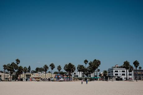 Venice Beach in a heatwave. The world has ended. LA is all that's left in this post apocalyptic nightmare.