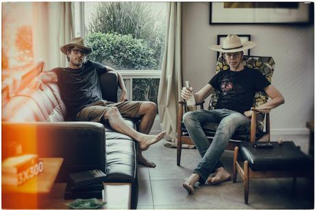 Two cowboys at the Smogranch. Picture by Charlene Winfred.