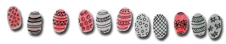 Thumbprint Easter Eggs