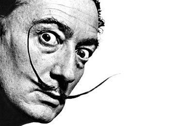 Dali: a surrealist artist for a surreal currency [courtesy Google Images]