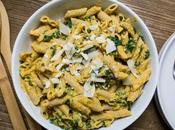 Chipotle Butternut Squash Sauce with Pasta Spinach