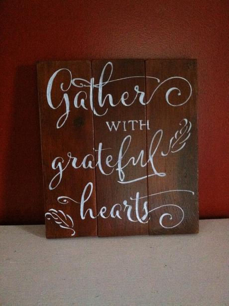 Hand Painted Wood Signs Using My Cantoni Font Paperblog