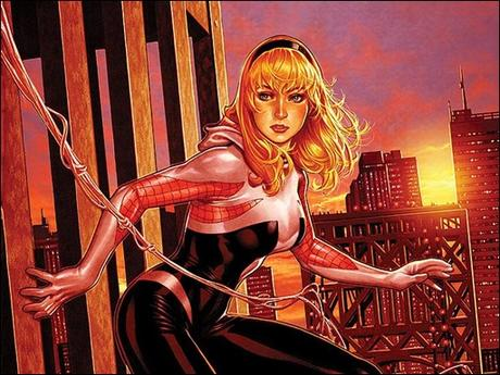 Spider-Gwen #4 NYC Variant by Mark Brooks