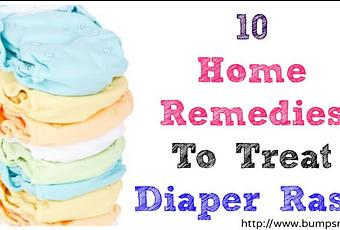 How To Treat Nappy Rash Naturally