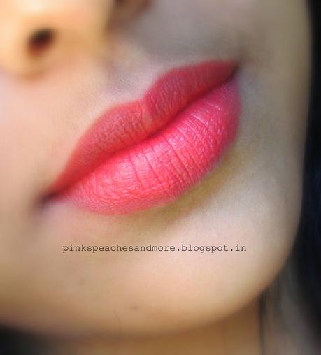 Lakme Absolute Sculpt Studio HD Matte Lipstick in Coral