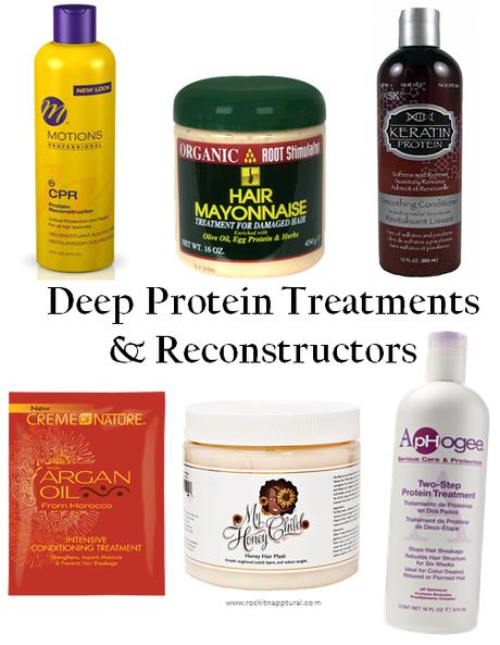 Natural Hair Protein Treatment Regimen