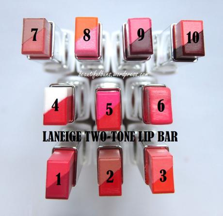 Review: Laneige Two-Tone Lip Bar & How to Apply to Get