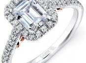 Square Halo Engagement Rings