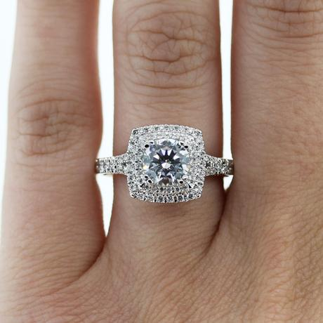 square halo engagement rings paperblog