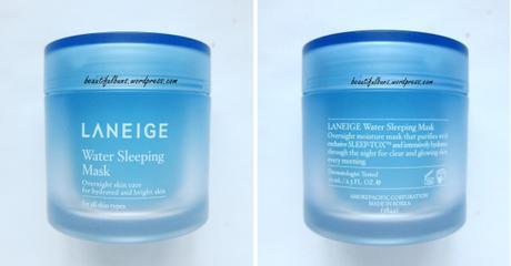 Review: Laneige Water Sleeping Mask
