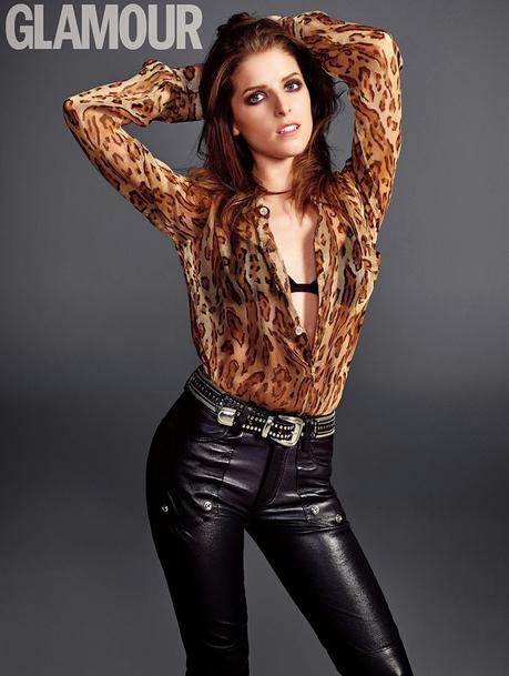 Anna Kendrick for Glamour UK