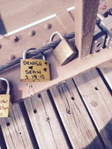 denise sean bow bridge locks central park
