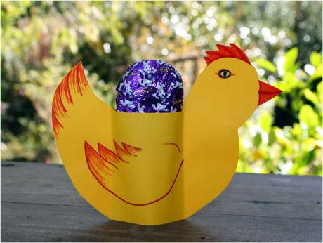 Chicken Easter Egg Cup