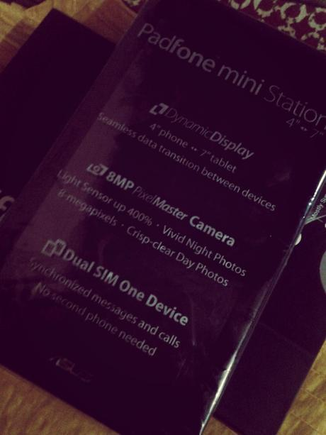 PadFone Mini Station Black