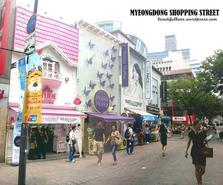 MYEONGDONG shopping street 1