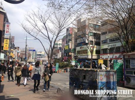 Hongdae Day time 2