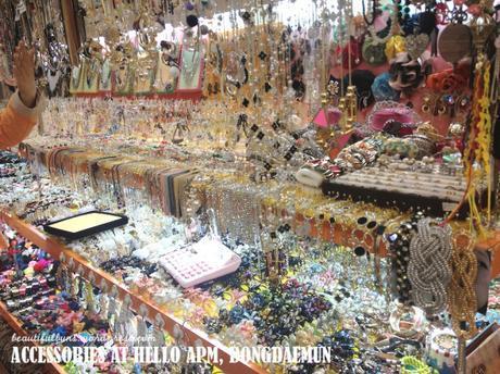 Dongdaemun accessories