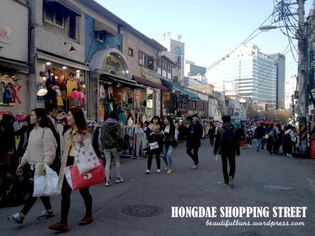 Hongdae Day time