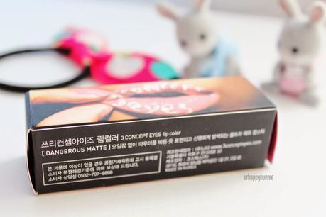 Stylenanda 3CE Dangerous Matte Lip Color in #807 Hypnotic Review