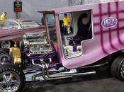 Galpin Auto Sports Brought Some Cool Customs Grand National Roadster Show, Same Enormous Tent from SEMA. Here Icon 60's, Milk Truck