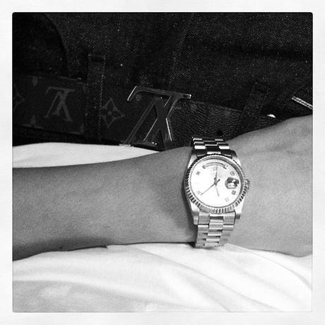 Justin Beiber Rolex Day Date