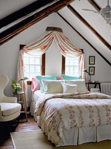 Country interiors that are clean and fresh, not cluttered and frilly!