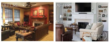 before and after living rooms living room remodels before and after paperblog 18143