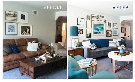 Living Room Remodels Before And After Paperblog