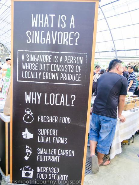 Celebrating my 27th birthday at Kranji Farmer's Market!